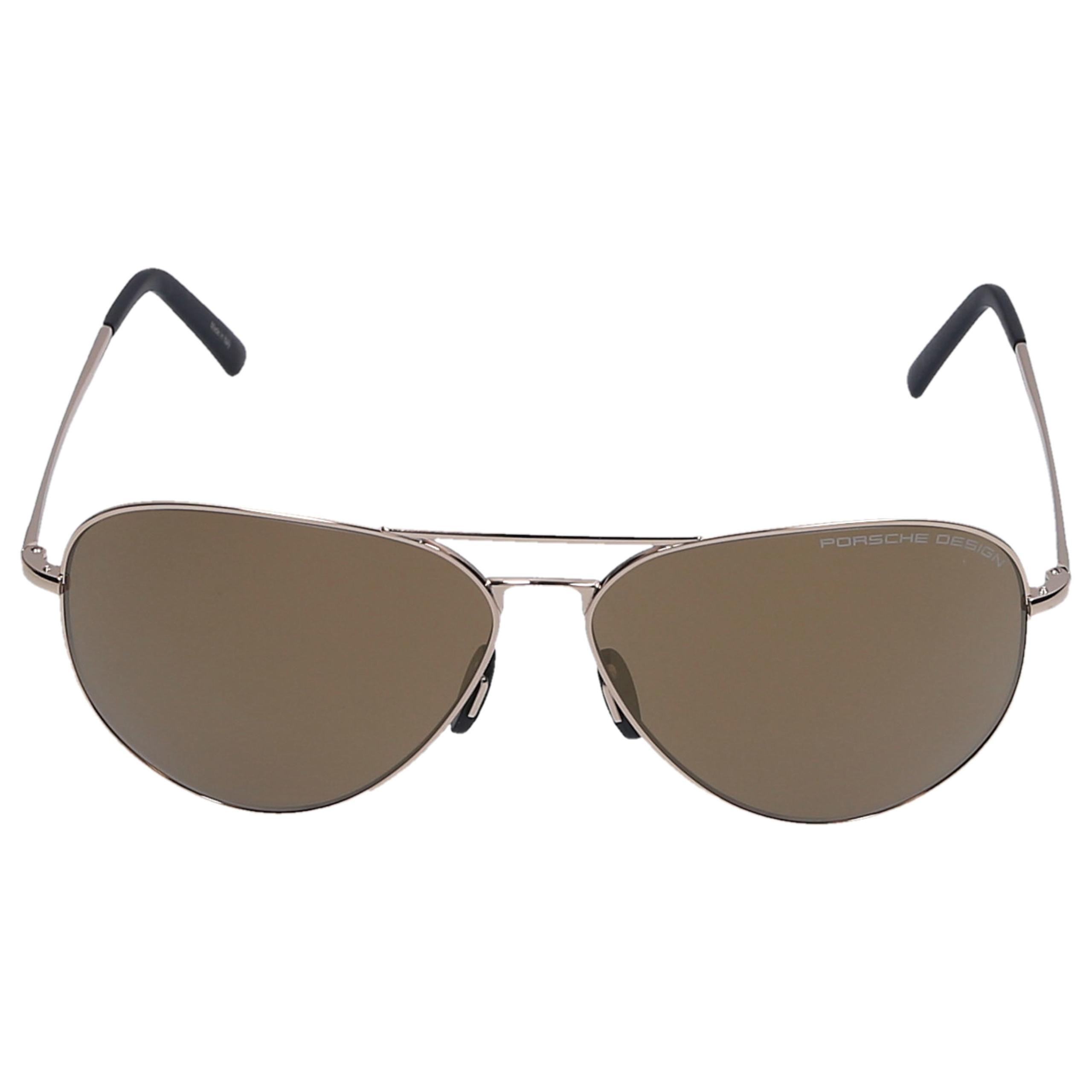 Sonnenbrille Aviator P8508 E 62/12 Metall gold