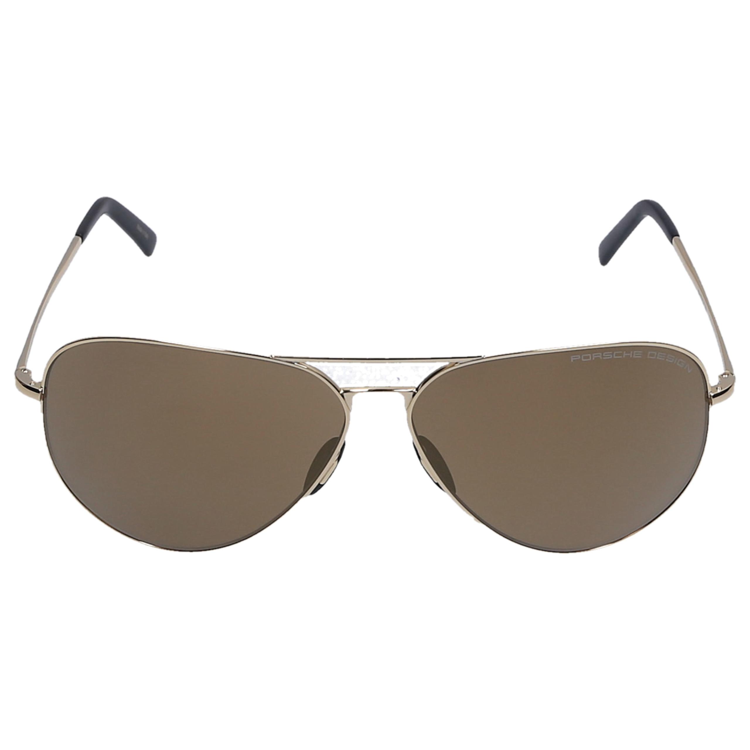 Sonnenbrille Aviator P8508 E 64/12 Metall gold