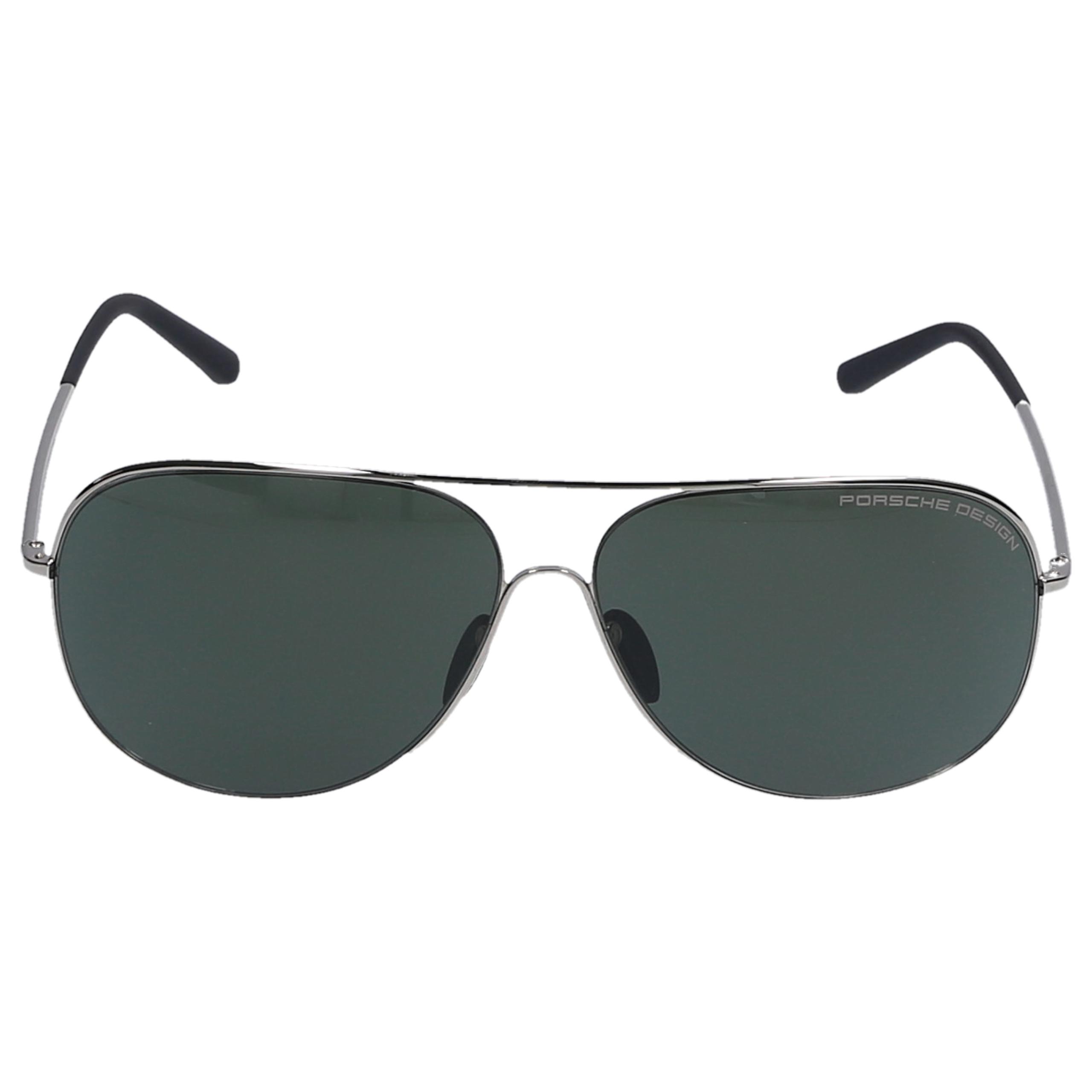 Sonnenbrille Aviator P8605 B 64/12 Metall silber