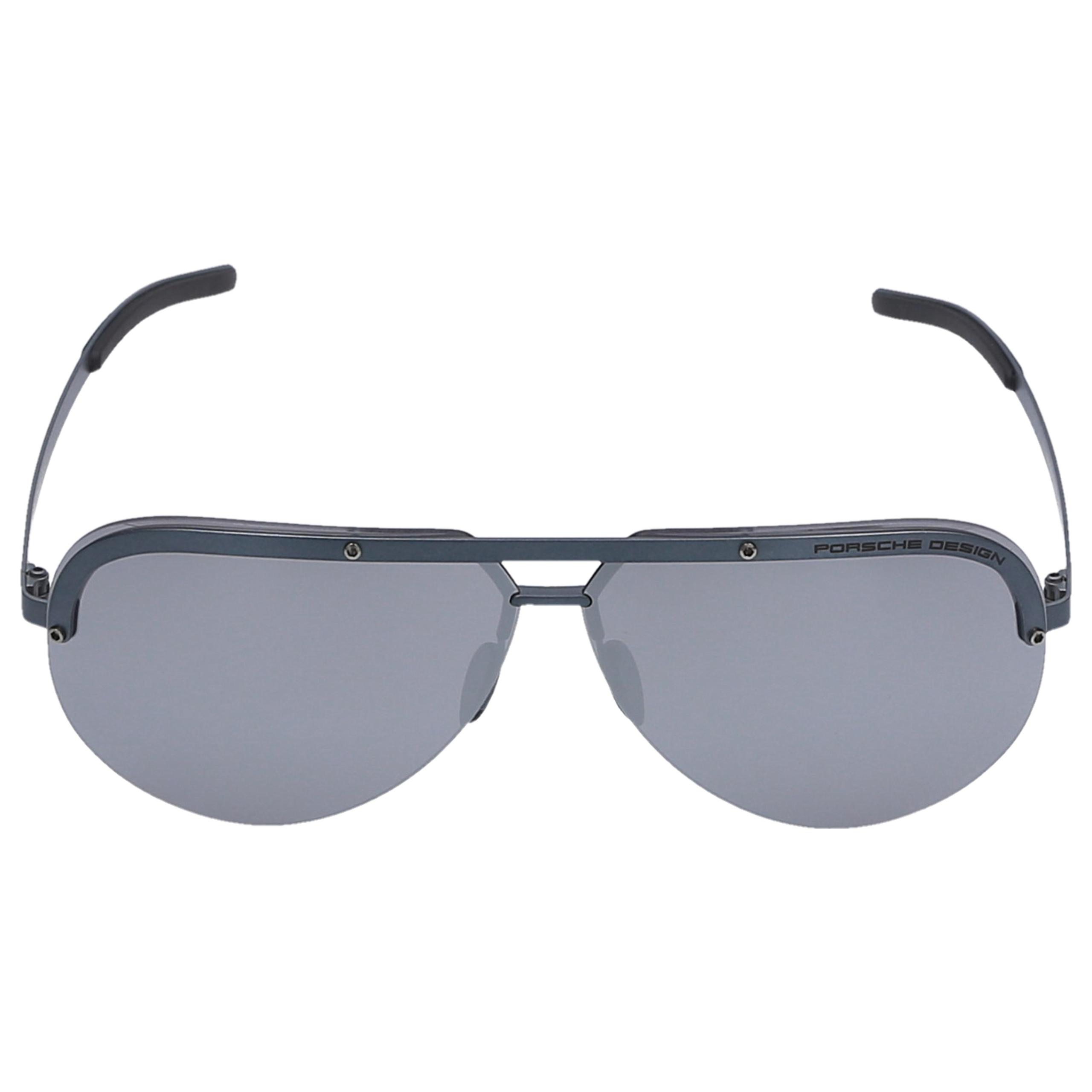 Sonnenbrille Aviator P8693 D 67/08 Metall grau