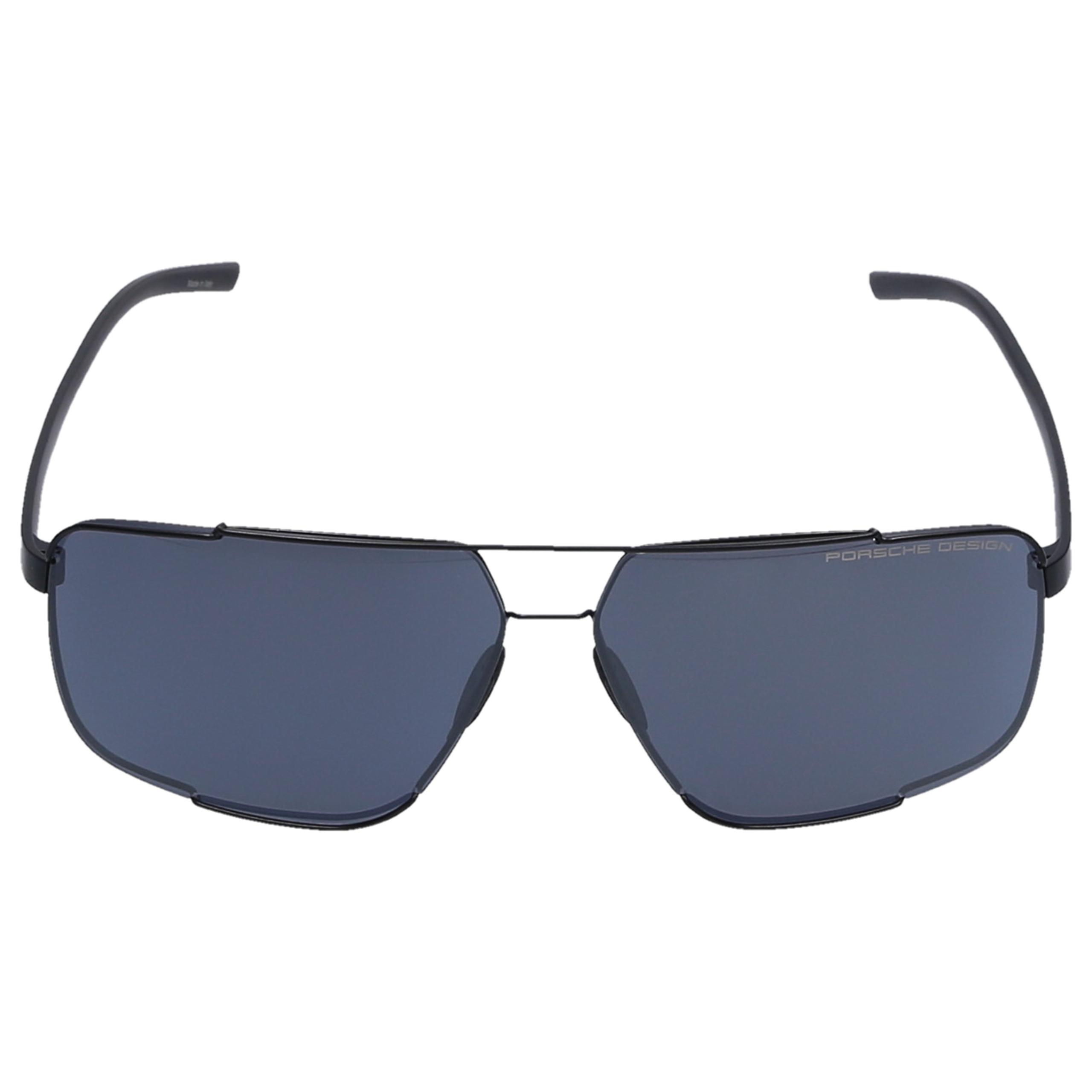 Sonnenbrille Square P8681 A 66/12 Acetat schwarz