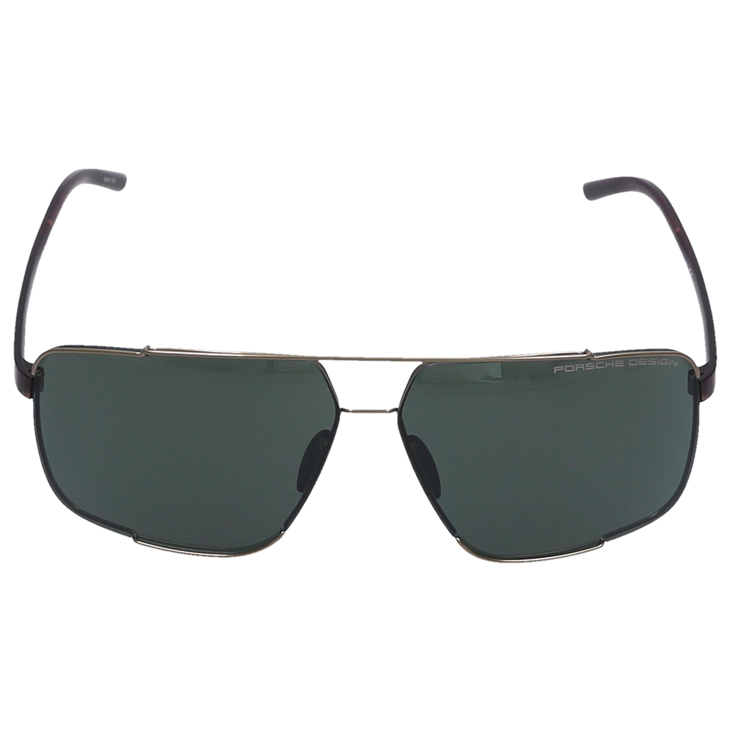Sonnenbrille Square P8681 B 66/12 Acetat braun