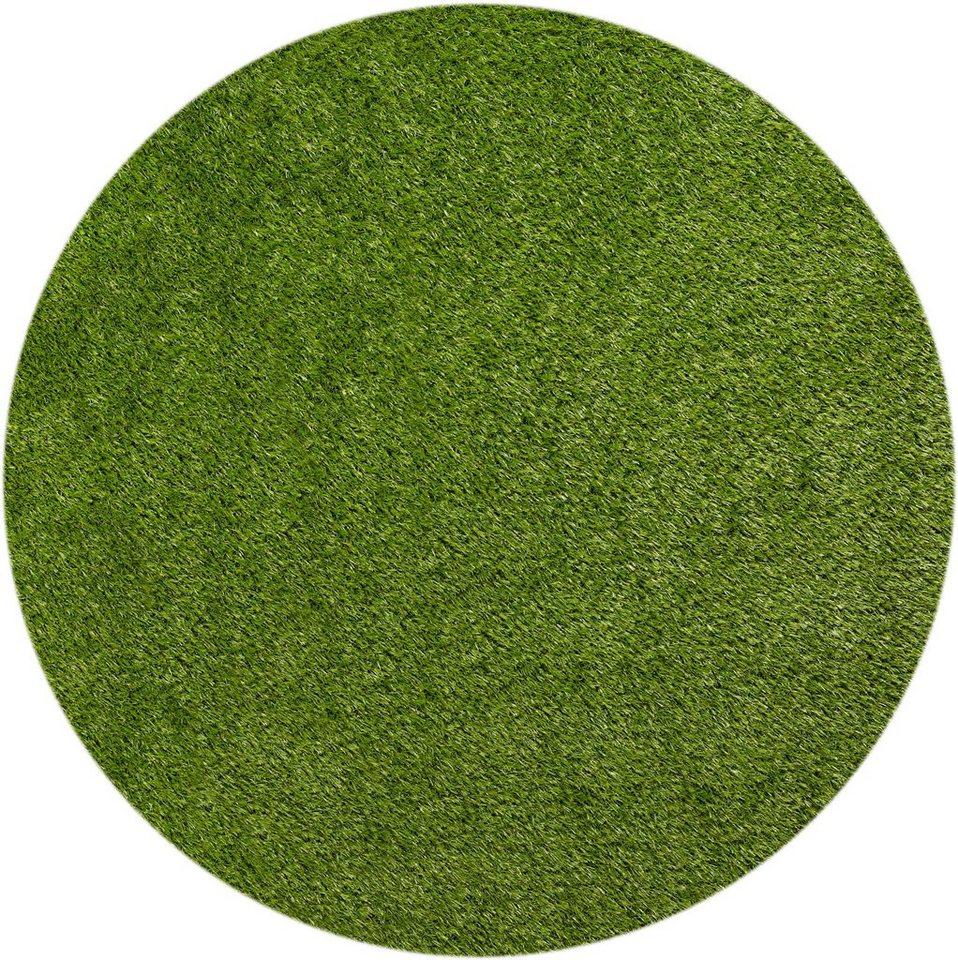 """Teppich, grün """"Miami Style"""", Barbara Becker, strapazierfähig"""