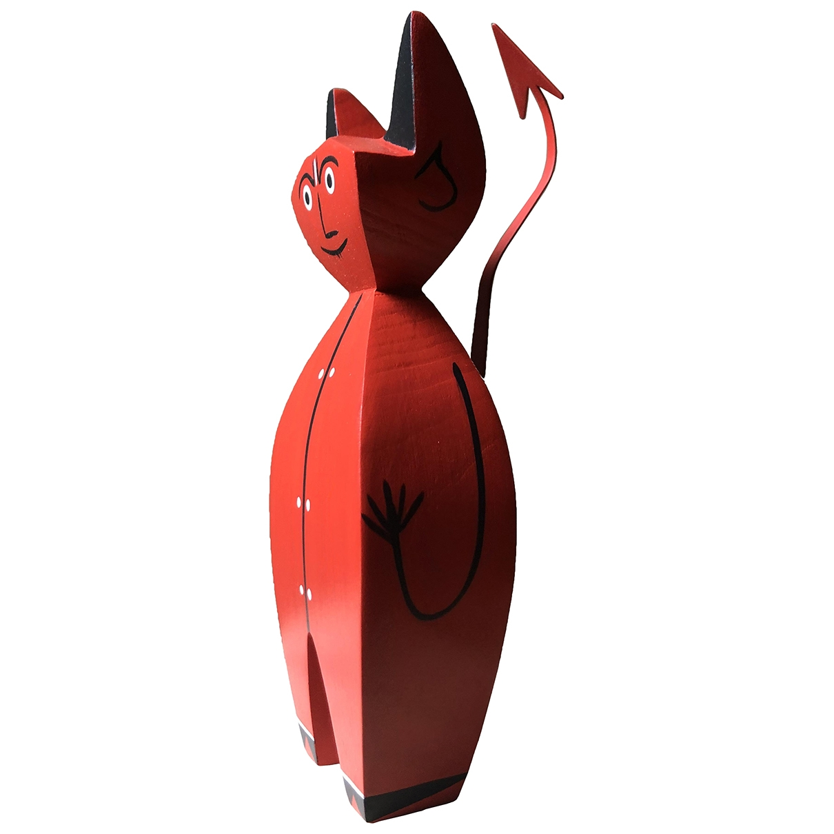 Vitra N Red Wood Home decor for Life & Living N