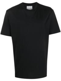 Acne Studios T-Shirt mit Rundhalsausschnitt - Schwarz