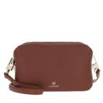 Aigner Umhängetasche - Crossbody Bag Cognac - in braun - für Damen
