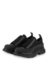 Alexander Mcqueen Plateau-Sneaker schwarz