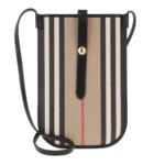 Burberry Smartphone Case - Icon Stripe Phone Case Beige - in beige - für Damen