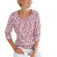 Damen Shirt rosé-bedruckt