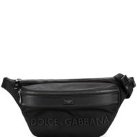 Dolce & Gabbana Klassische Gürteltasche - Schwarz