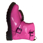 Dr. Martens Chelsea Pink Patent leather Boots for Women 34 EU