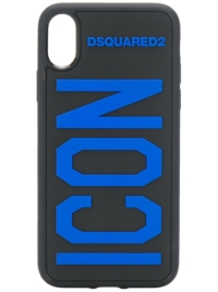 Dsquared2 'Icon' iPhone X-Hülle - Schwarz
