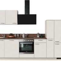 """Express Küchen Küchenzeile """"Scafa"""", mit E-Geräten, vormontiert, mit Vollauszug und Soft-Close-Funktion, Stellbreite 310 cm"""