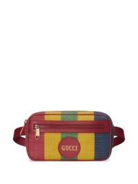 """Gucci Gürteltasche mit """"Baiadera""""-Streifen - Mehrfarbig"""