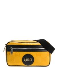 Gucci Gürteltasche mit Monogramm - Gelb