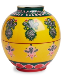 La Doublej 'Bubble Pineapple' Vase, 23cm - Gelb