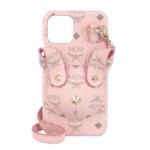 MCM Smartphone Case - Rabbit Phone Case W Strap Powder Pink - in rosa - für Damen