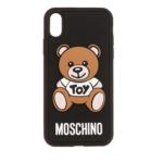 Moschino Smartphone Case - Phone Case iPhone XR Black - in bunt - für Damen