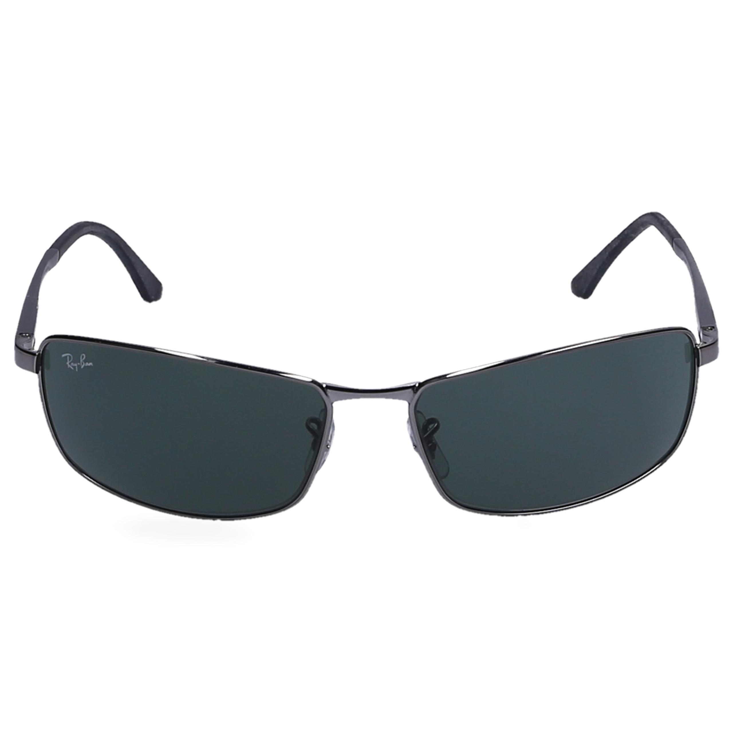 Sonnenbrille Wayfarer 3498 004/71 Metall silber
