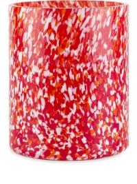 Stories of Italy 'Macchia' Vase, 15cm - Rot