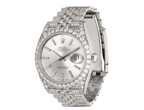 Was bedeutet iced out? Rolex iced out Uhr