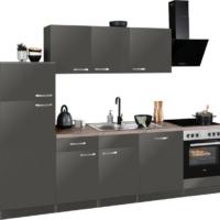 """wiho Küchen Küchenzeile """"Kansas"""", mit E-Geräten, Breite 280 cm"""