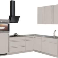 """wiho Küchen Winkelküche """"Chicago"""", mit E-Geräten, 260 x 220 cm"""