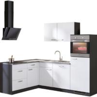 """wiho Küchen Winkelküche """"Michigan"""", mit E-Geräten, 230 x 170 cm"""