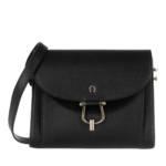 AIGNER Umhängetasche - Flora Crossbody Bag Black - in schwarz - für Damen