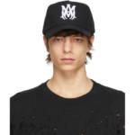 AMIRI Black Canvas MA Hat