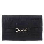 Abro Clutch - Clutch Diana Black - in schwarz - für Damen