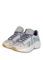 Acne Studios Plateau-Sneaker weiss