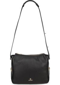 Aigner, Umhängetasche Milano S in schwarz, Umhängetaschen für Damen