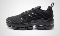 "Air VaporMax Plus ""Triple Black"" Sneaker"