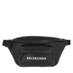 Balenciaga Gürteltasche - Everyday XS Belt Bag Leather Black/White - in schwarz - für Damen