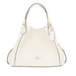 Coach Tote - Pebble Edie Shopping Bag Chalk - in weiß - für Damen