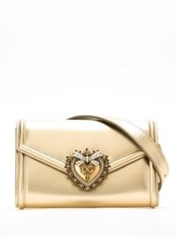 """Dolce & Gabbana Gürteltasche mit """"Sacred Heart""""-Logo - Nude"""