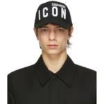 Dsquared2 Black Icon Baseball Cap