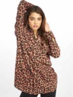 Missguided Frauen Kleid Oversized Jersey in braun