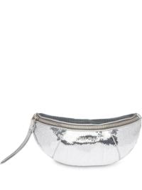 Miu Miu Gürteltasche mit Pailletten - Silber