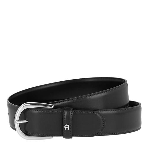 Aigner Gürtel - Logo Belt - in schwarz - für Damen