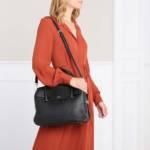 Aigner Satchel Bag - Milano Handle Bag - in schwarz - für Damen