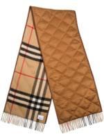 Burberry Kaschmirschal mit Vintage-Check - Braun