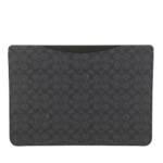 Coach Smartphone Cases - 16 Inch Laptop Sleeve In Signature - in grau - für Damen