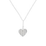 Gravur Herzkette Dressed Up für Damen aus Edelstahl