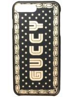 Gucci 'Guccy' iPhone 8 Plus-Hülle - Schwarz
