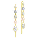 Julie Sandlau Ohrringe - Cinderella Chandeliers Earrings - in gold - für Damen