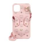 MCM Smartphone Cases - Rabbit Iphone Case W Strap 11 Pro - in pink - für Damen