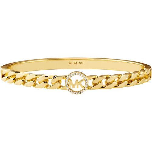 """Michael Kors Damen Armreif """"Premium MKC1381AN710"""", 925er Silber, gold, keine Angabe"""