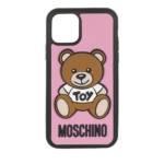 Moschino Smartphone Cases - iPhone 11 Pro Toy Cover - in rosa - für Damen